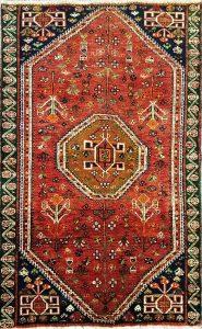 שטיח פרסי קולקציה שיראז דגם 1033 בעבודת יד