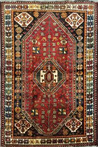 שטיח פרסי שיראז דגם 1029 עבודת יד