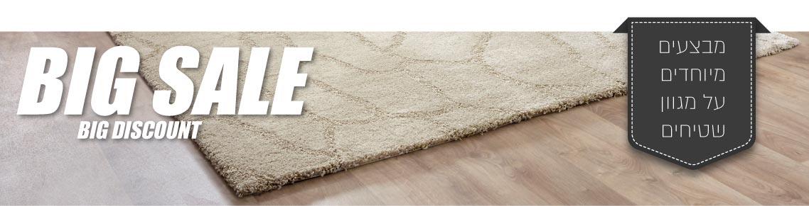 מבצע מיוחד על מגוון שטיחים