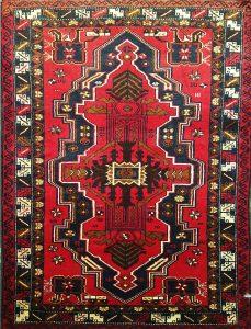 שטיח פרסי עבודת יד קולקציה בלוץ' דגם 1652