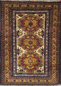 שטיח פרסי עבודת יד קולקציה בלוץ' דגם 1654