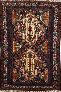 שטיח פרסי עבודת יד קולקציה בלוץ' דגם 1655