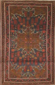 שטיח פרסי עבודת יד קולקציה בלוץ' דגם 1659
