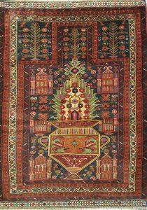 שטיח פרסי עבודת יד קולקציה בלוץ' דגם 1665