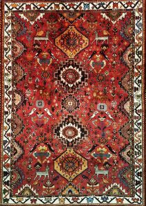 שטיח פרסי עבודת יד קולקציה שיראז דגם 1024