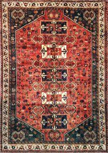 שטיח פרסי עבודת יד דגם שיראז 1020