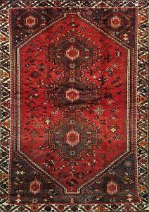 שטיח פרסי עבודת יד דגם שיראז 1022