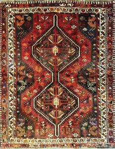 שטיח פרסי קולקציה שיראז דגם 1030 בעבודת יד