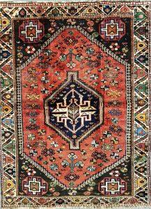 שטיח פרסי שיראז דגם 1027 עבודת יד