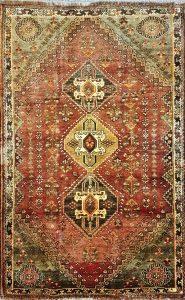 שטיח פרסי שיראז דגם 1028 עבודת יד