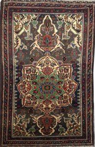 שטיח פרסי עבודת יד קולקציה בלוץ' דגם 160162