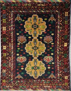 שטיח פרסי עבודת יד קולקציה בלוץ' דגם 1651