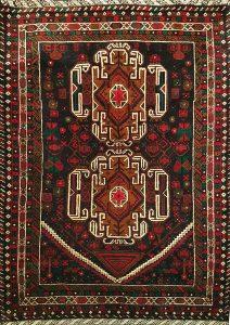 שטיח פרסי עבודת יד קולקציה בלוץ' דגם 1657