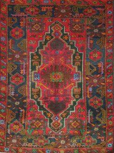 שטיח פרסי עבודת יד קולקציה בלוץ' דגם 1658