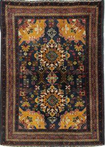 שטיח פרסי עבודת יד קולקציה בלוץ' דגם 1660