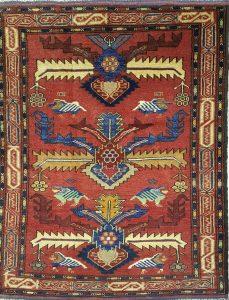 שטיח פרסי עבודת יד קולקציה בלוץ' דגם 1661