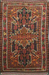 שטיח פרסי עבודת יד קולקציה בלוץ' דגם 1664