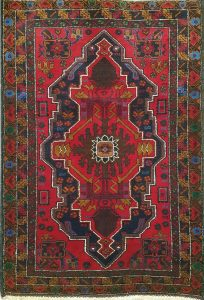 שטיח פרסי עבודת יד קולקציה בלוץ' דגם 1666